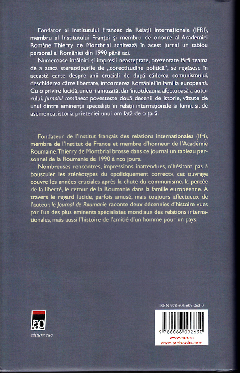 Journal de Roumanie