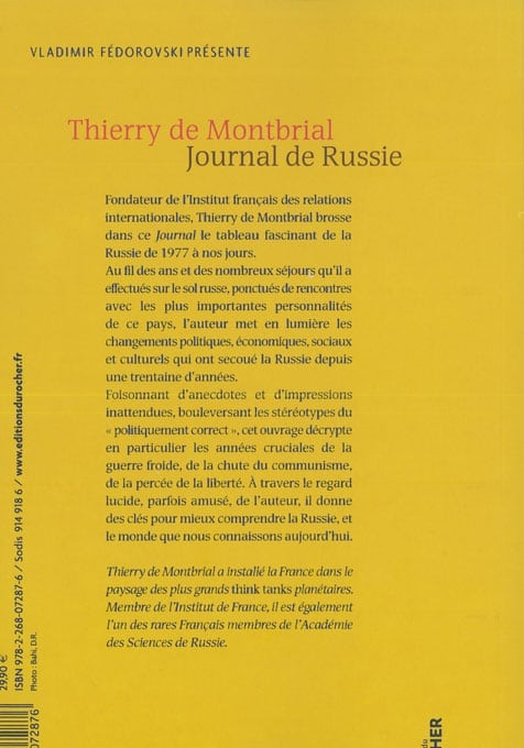 Journal de Russie
