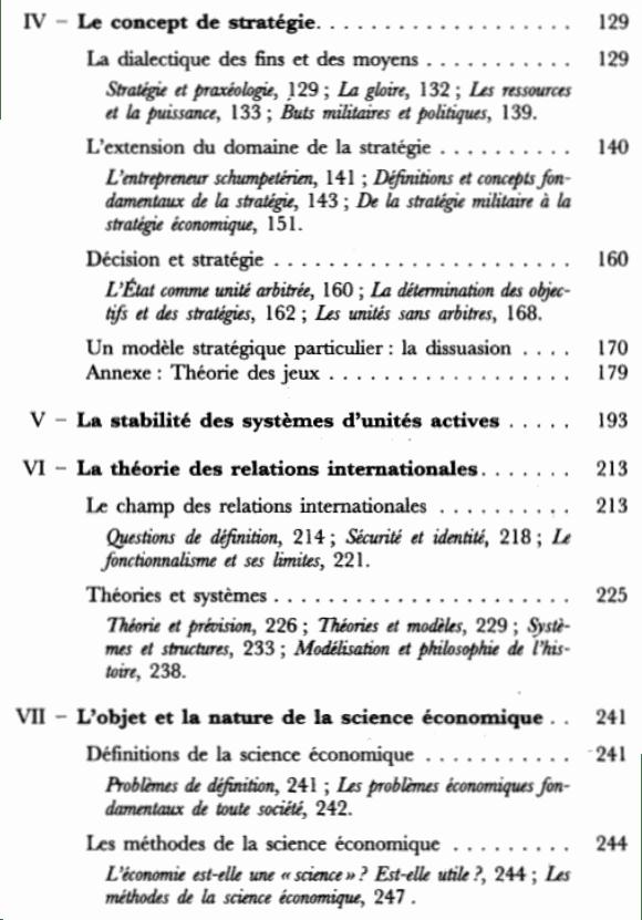 L'action et le système du monde - Sommaire page 2