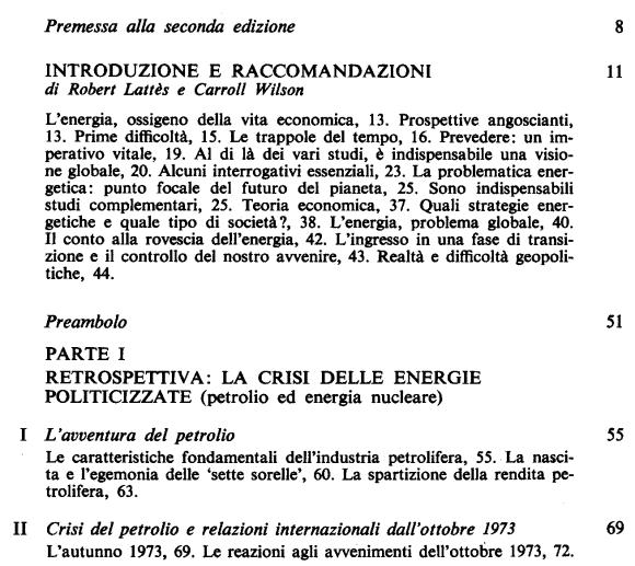 Energia contro alla rovescia - Sommaire page 1