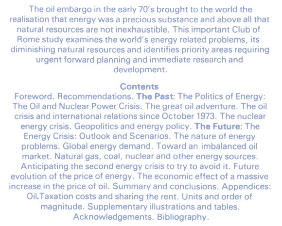 L'énergie : le compte à rebours - Anglais