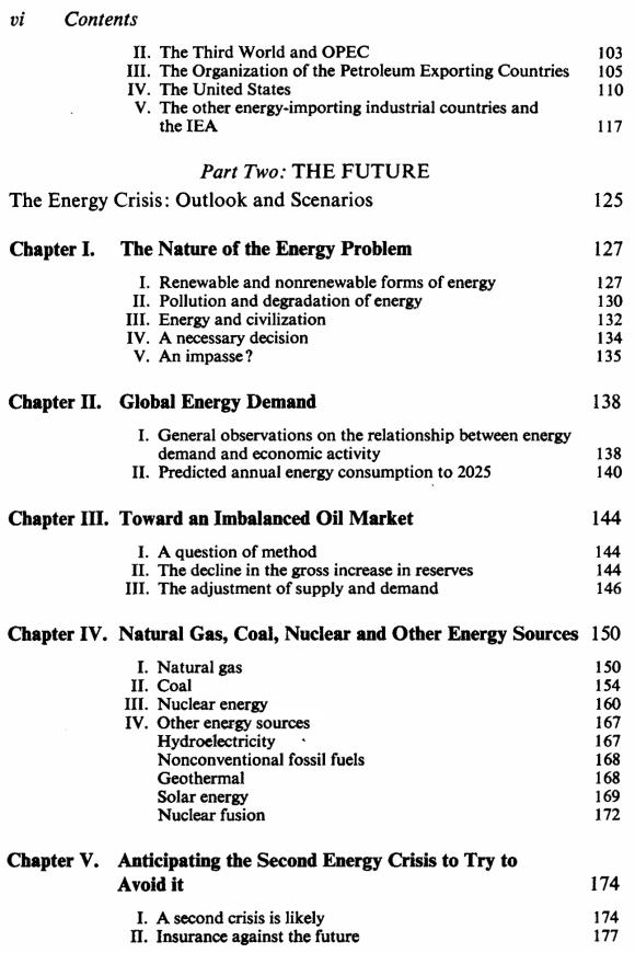 L'énergie : le compte à rebours - Anglais - Sommaire page 2