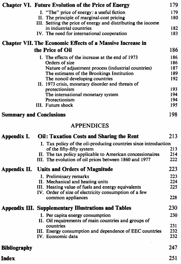 L'énergie : le compte à rebours - Anglais - Sommaire page 3
