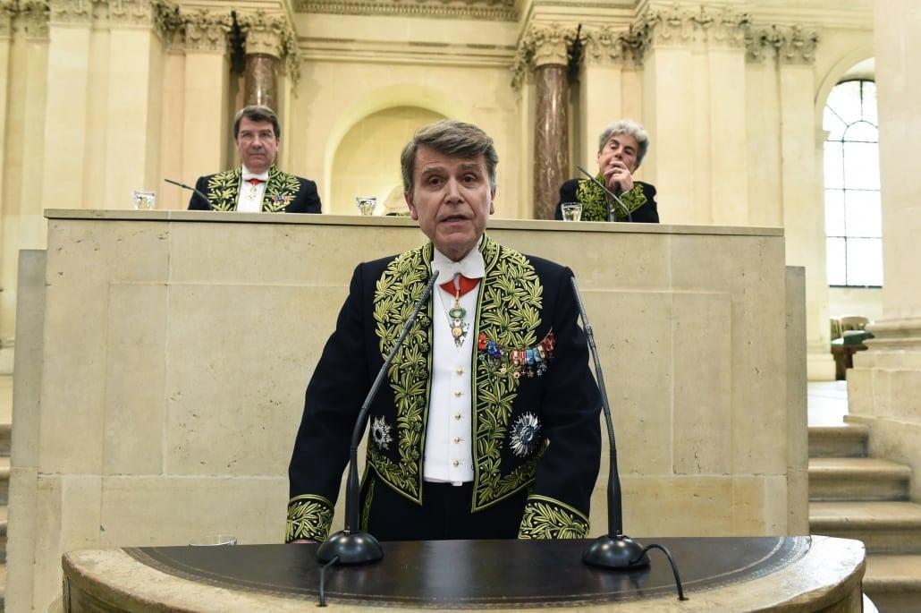 Thierry de Montbrial membre de l'Académie des sciences morales et politiques