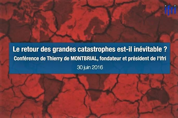 Ifri conférence de Thierry de Montbrial