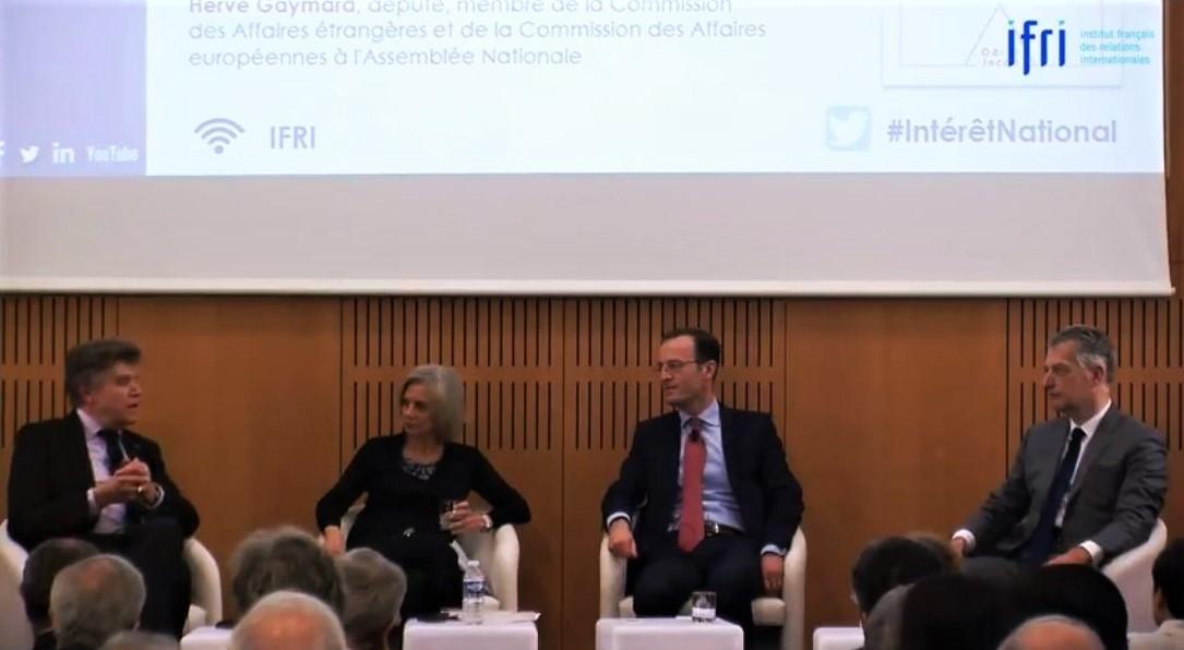 Ifri Conférence de présentation du livre Notre intérêt national Thierry de MOntbrial