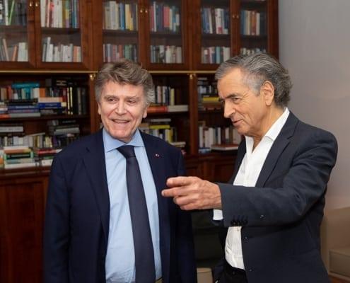 Débat entre Thierry de Montbrial et Bernard-Henry Lévy à l'Ifri le 29 mai 2018