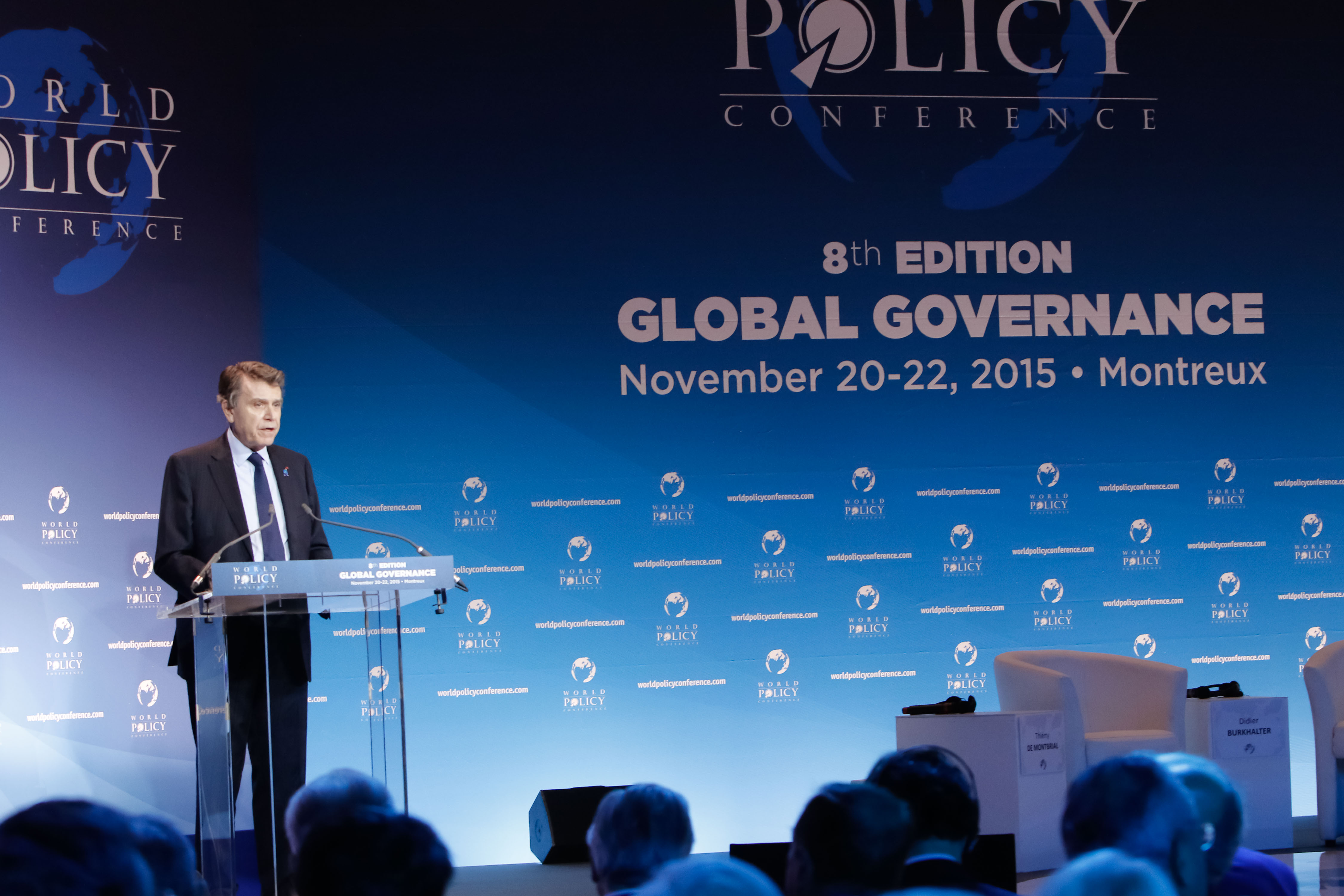 World Policy Conference WPC 2015, Thierry de Montbrial