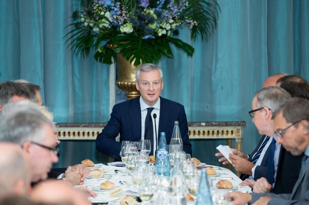 Diner débat avec Bruno Lemaire à l'Ifri