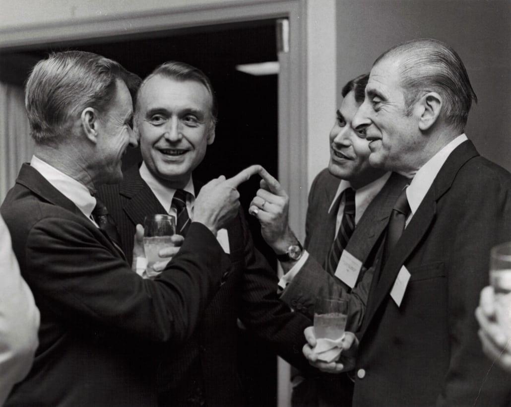 Zbigniew Brzeziński, Edouardo Frei, karl kaiser, Thierry de Montbrial