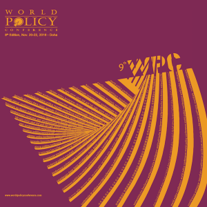 World Policy Conference