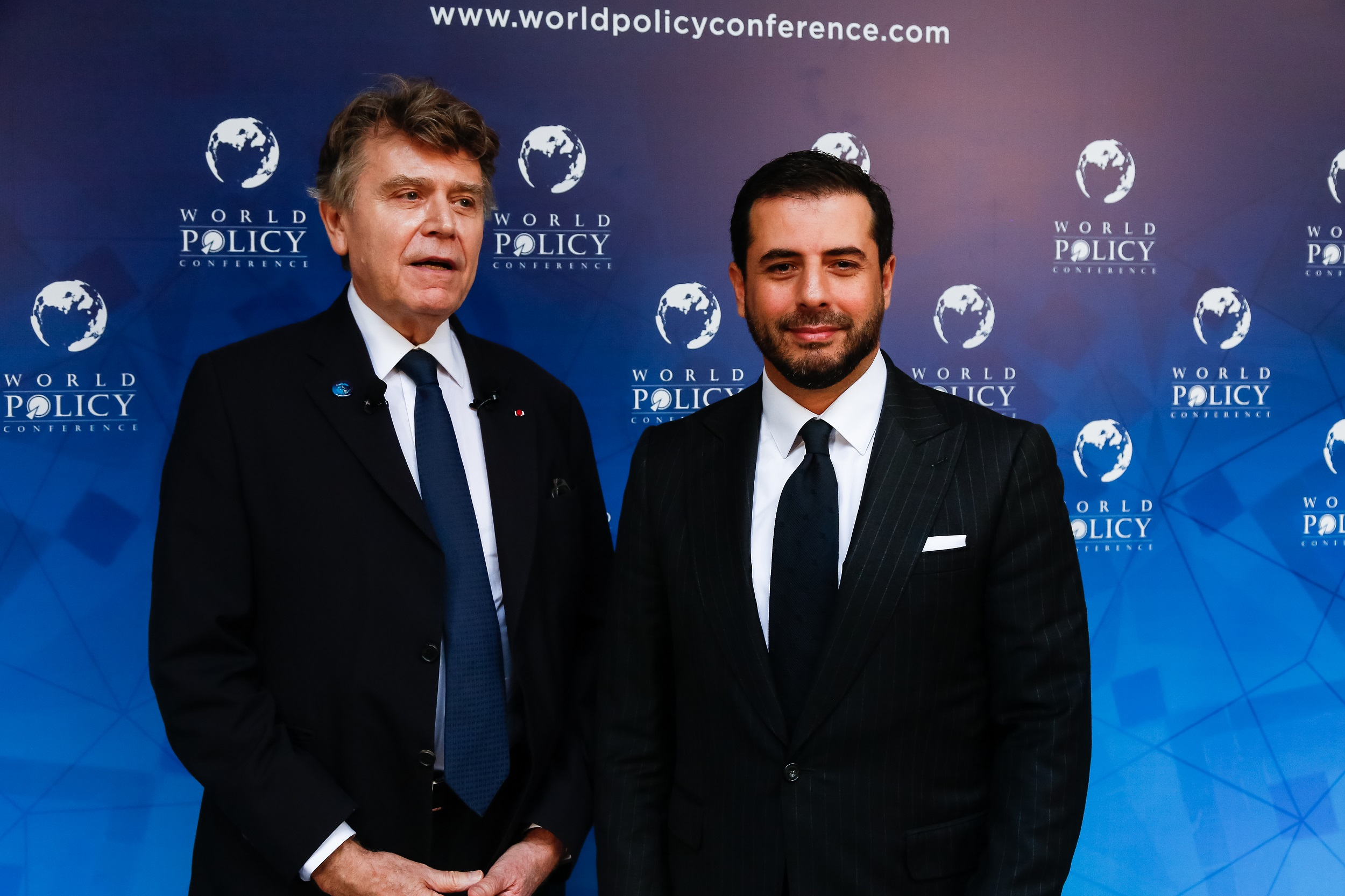 World Policy Conference WPC 2017 Thierry de Montbrial, Yassir Znagui