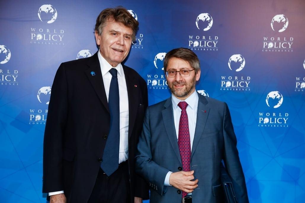 World Policy Conference WPC 2017 Thierry de Montbrial, Haïm Korsia