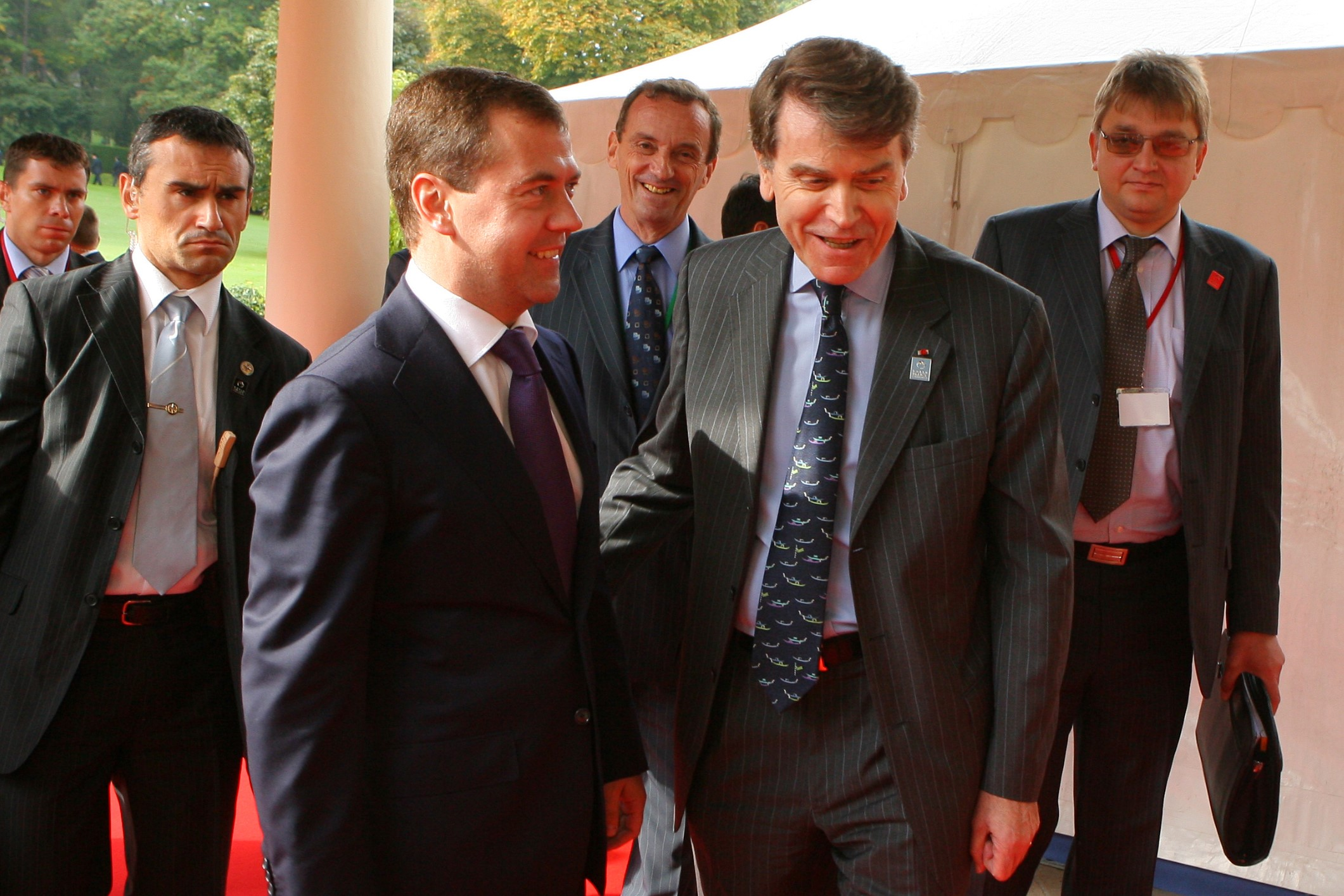 World Policy Conference WPC 2008, Dmitry Medvedev, Thierry de Montbrial