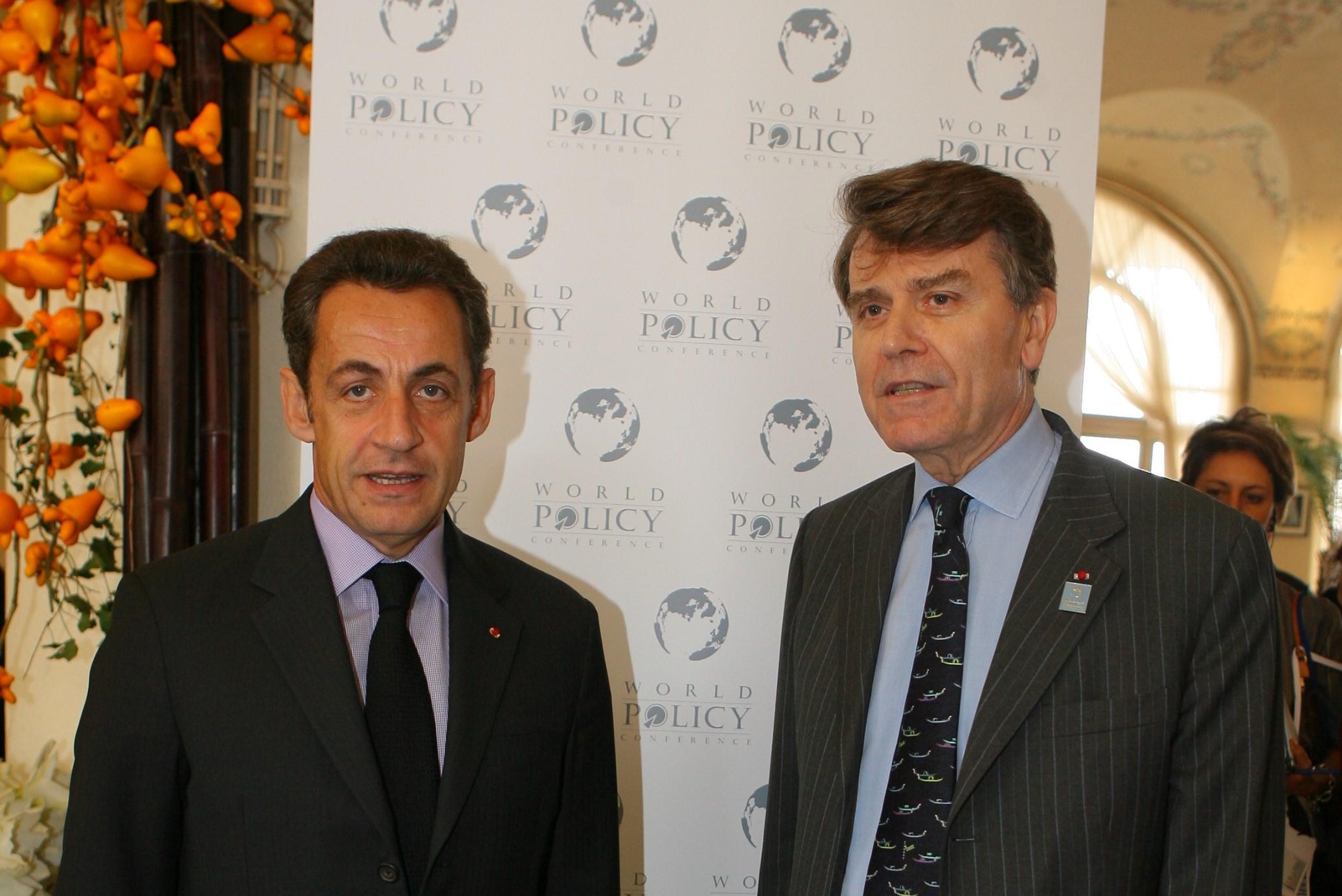 World Policy Conference WPC 2008, Nicolas Sarkozy, Thierry de Montbrial