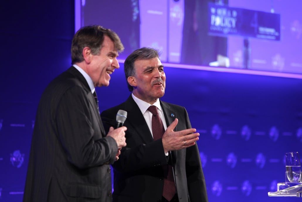 World Policy Conference WPC 2011, Thierry de Montbrial, Abdullah Gül