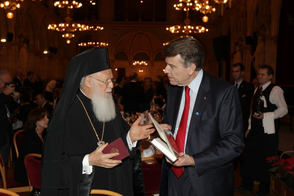 World Policy Conference WPC 2011, Bartholomew 1st, Ecumenical Patriarch of Constantinople, Thierry de Montbrial