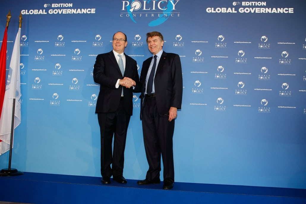 World Policy Conference WPC 2013, Prince Albert II of Monaco; Thierry de Montbrial