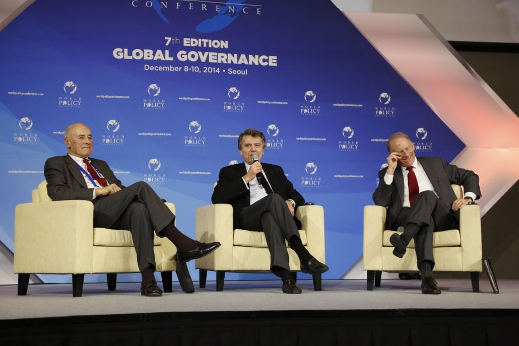 World Policy Conference WPC 2014, Joseph Nye, Thierry de Montbrial, Richard Haass