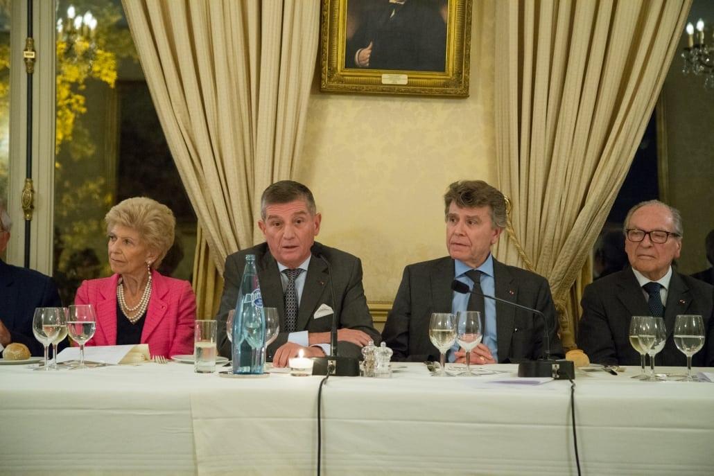 Dîner débat de l'Ifri avec Général Benoît PUGA, Thierry de Montbrial
