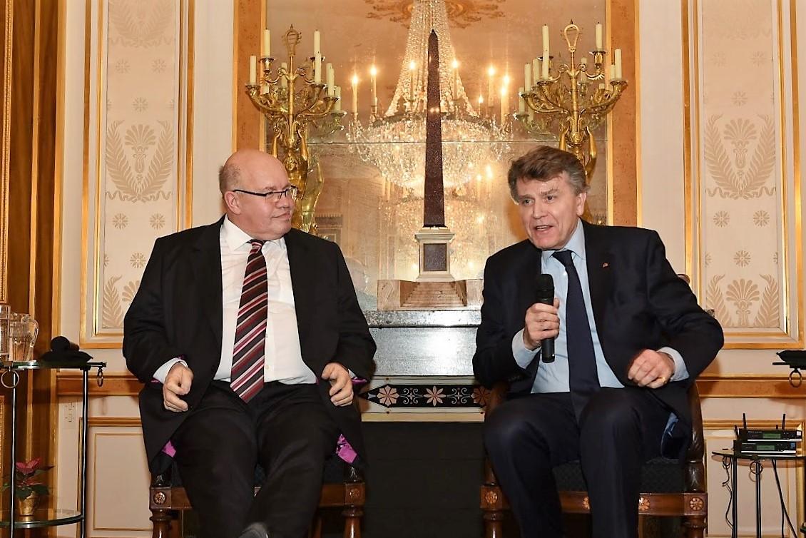 Conférence à l'Ifri avec Peter Altmaier, Thierry de Montbrial