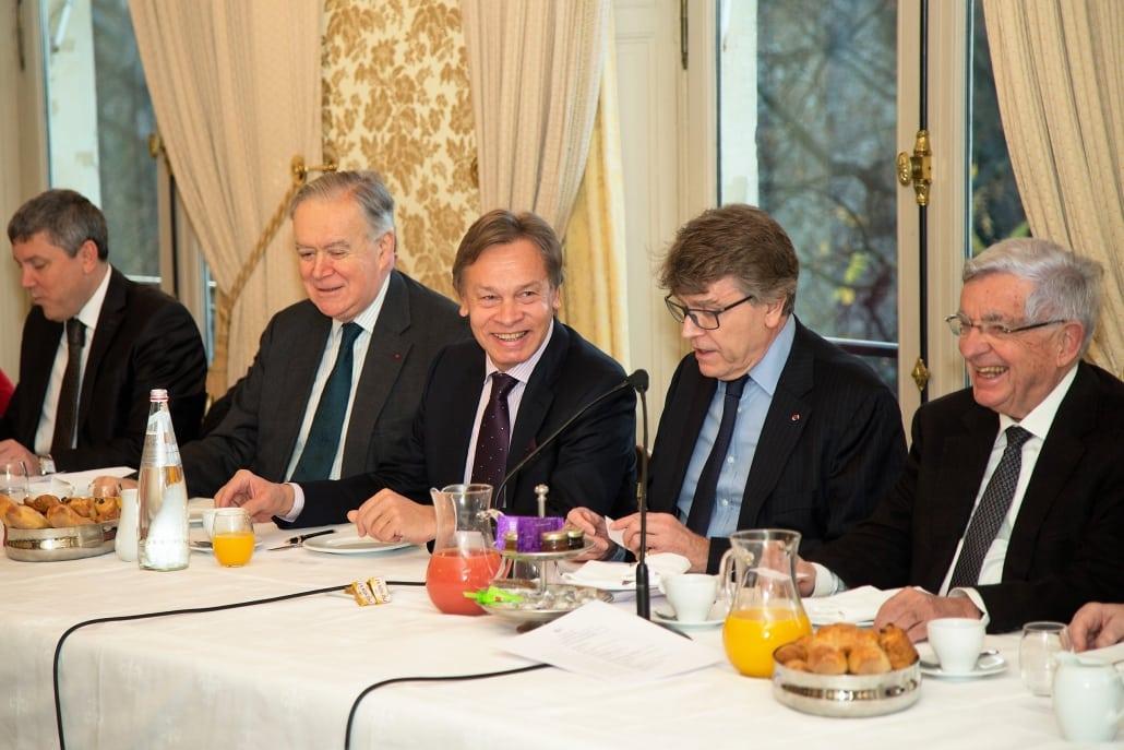 Petit-déjeuner-débat Ifri avec Alexeï POUCHKOV, Thierry de Montbrial