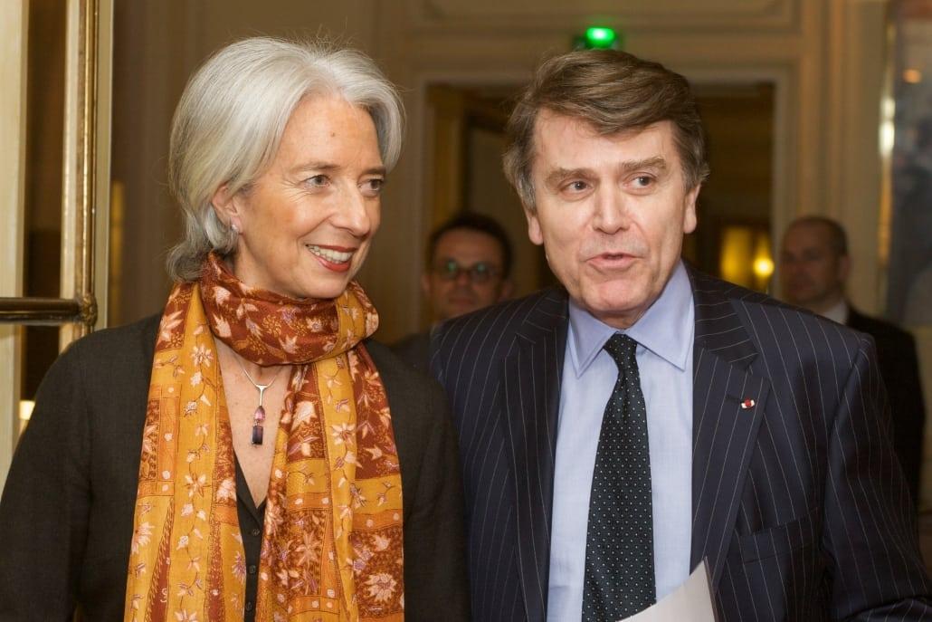 Christine Lagarde, Thierry de Montbrial