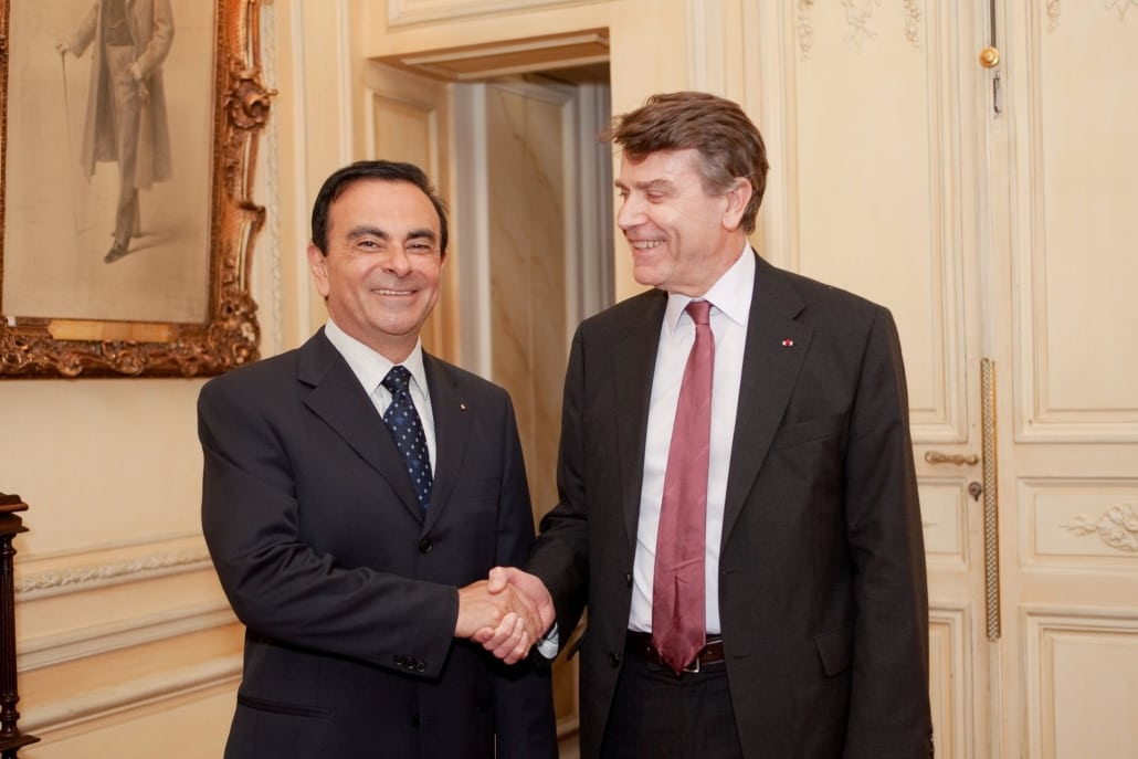 Carlos Ghosn, Thierry de Montbrial