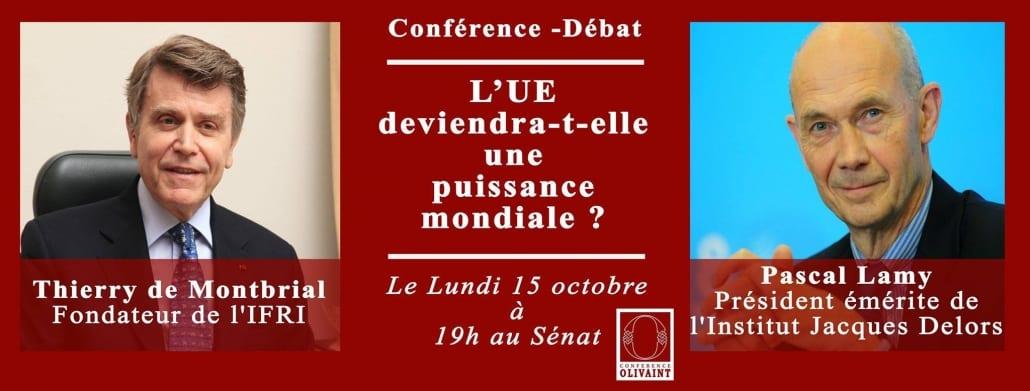 Conférence Olivaint Thierry de Montbrial Pascal Lamy