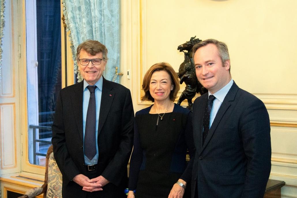 Thierry de Montbrial, Jean-baptiste Lemoyne et Anne-Marie Couderc, Ifri le 10 janvier 2019