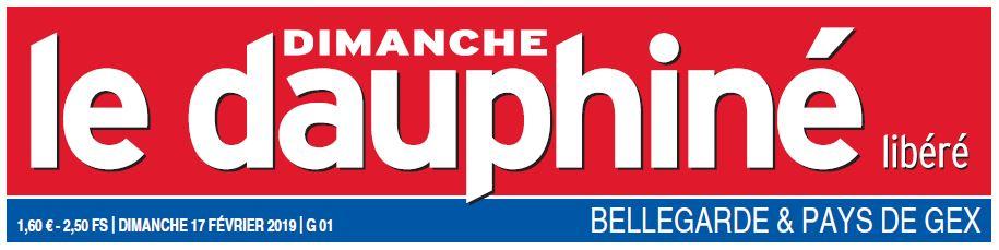 Le Dauphiné Libéré Article Thierry de Montbrial