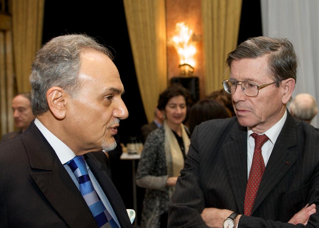 Le Prince Turki Al-Faisal reçu par l'Ifri au Prince de Galles le 10/12/2008
