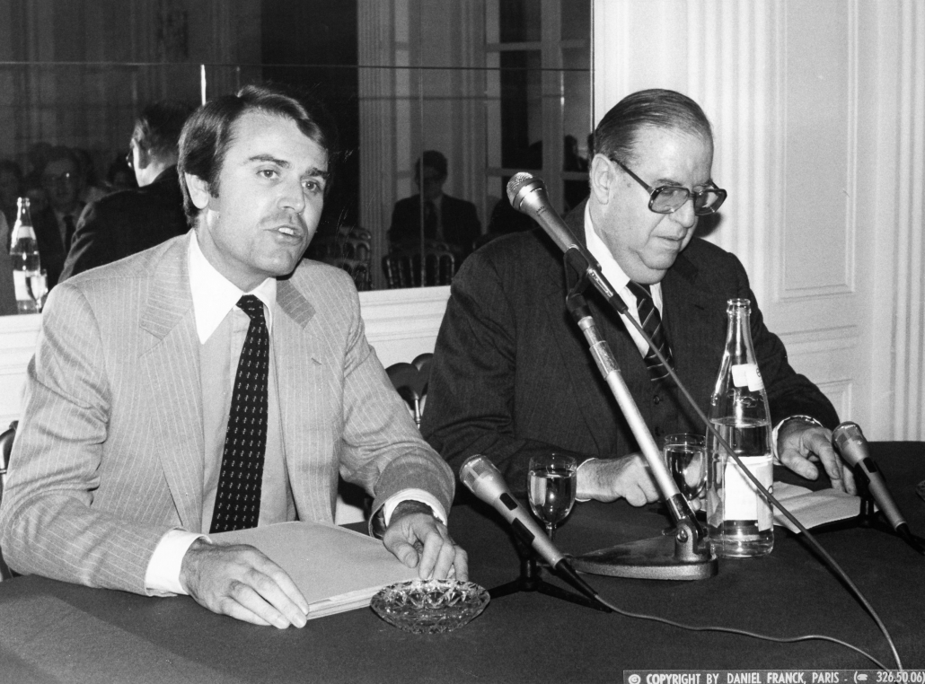 Abba Ebban, Thierry de Montbrial, Ifri 1982