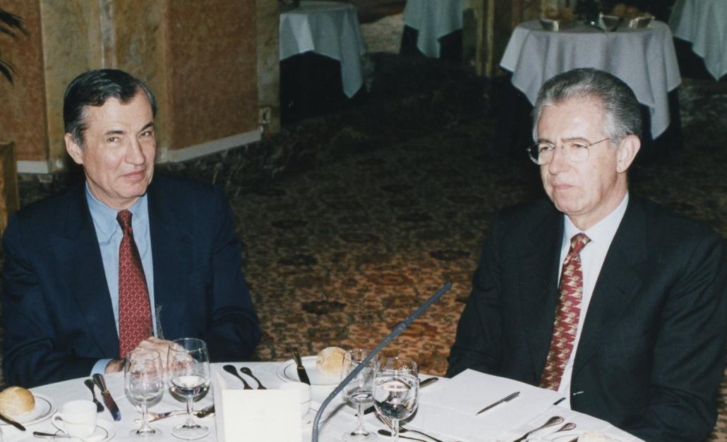 Bertrand Collomb, Mario Monti, ifri 2000