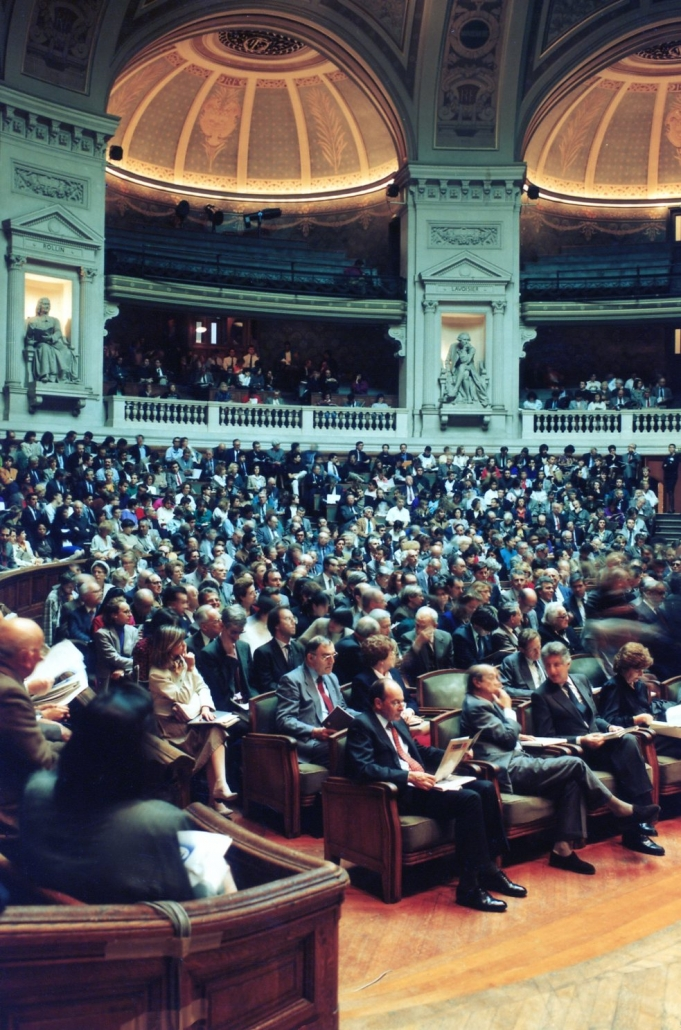 Colloque Sorbonne, 10° anniversaire de l'Ifri, 1989
