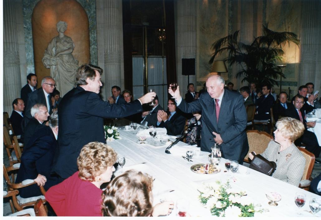 Mikhaïl Gorbatchev, Thierry de Montbrial, Ifri 1997