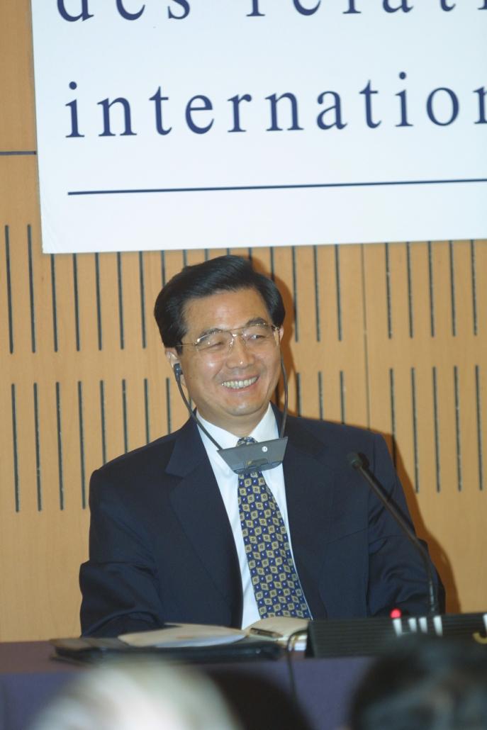 Hu Jintao, Ifri 2001