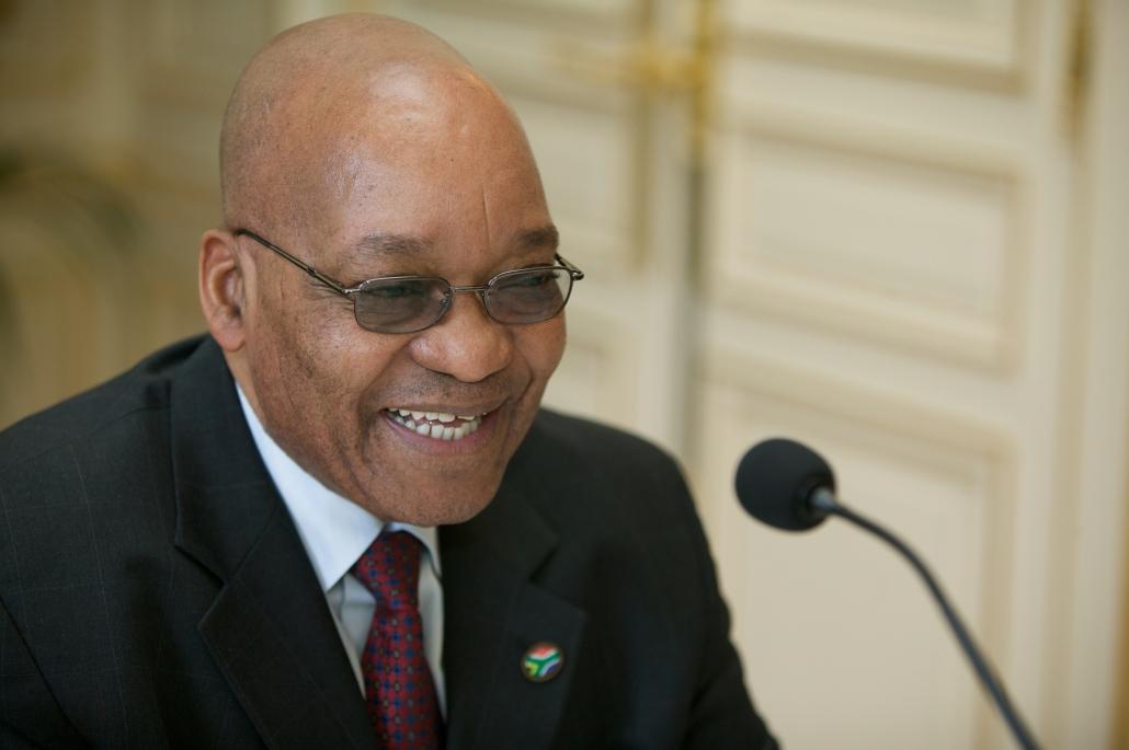Jacob Zuma, Ifri 2008