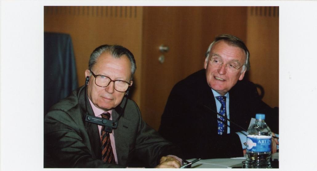Karl Kaiser, Jacques Delors, ifri 2000