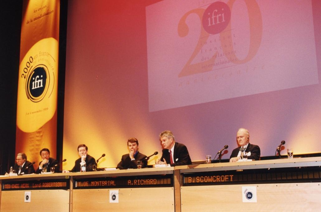 20° anniversaire de l'Ifri, 1999
