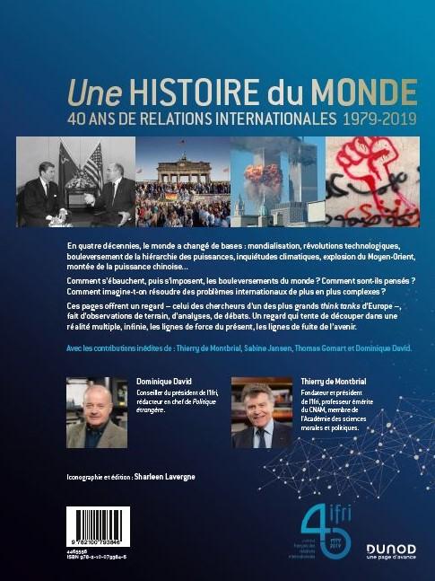 Livre Une histoire du Monde - 40 ans de l'Ifri
