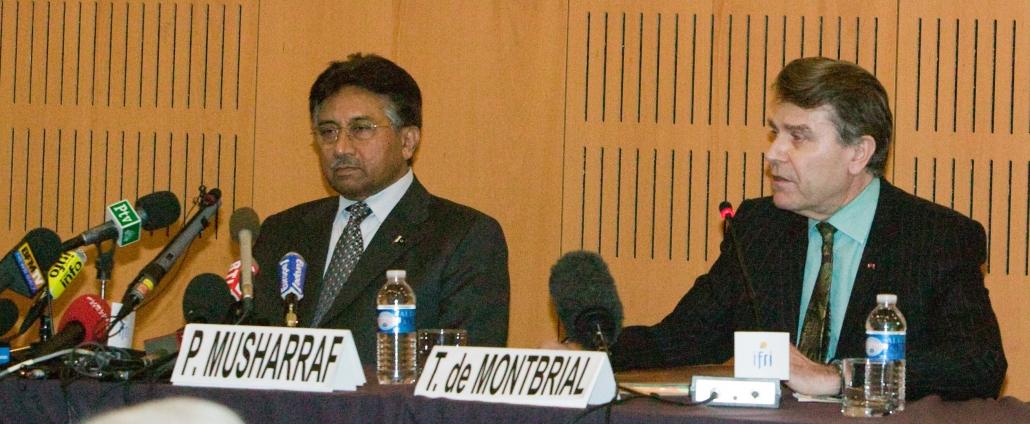 Pervez Musharraf, Thierry de Montbrial, Ifri 2008