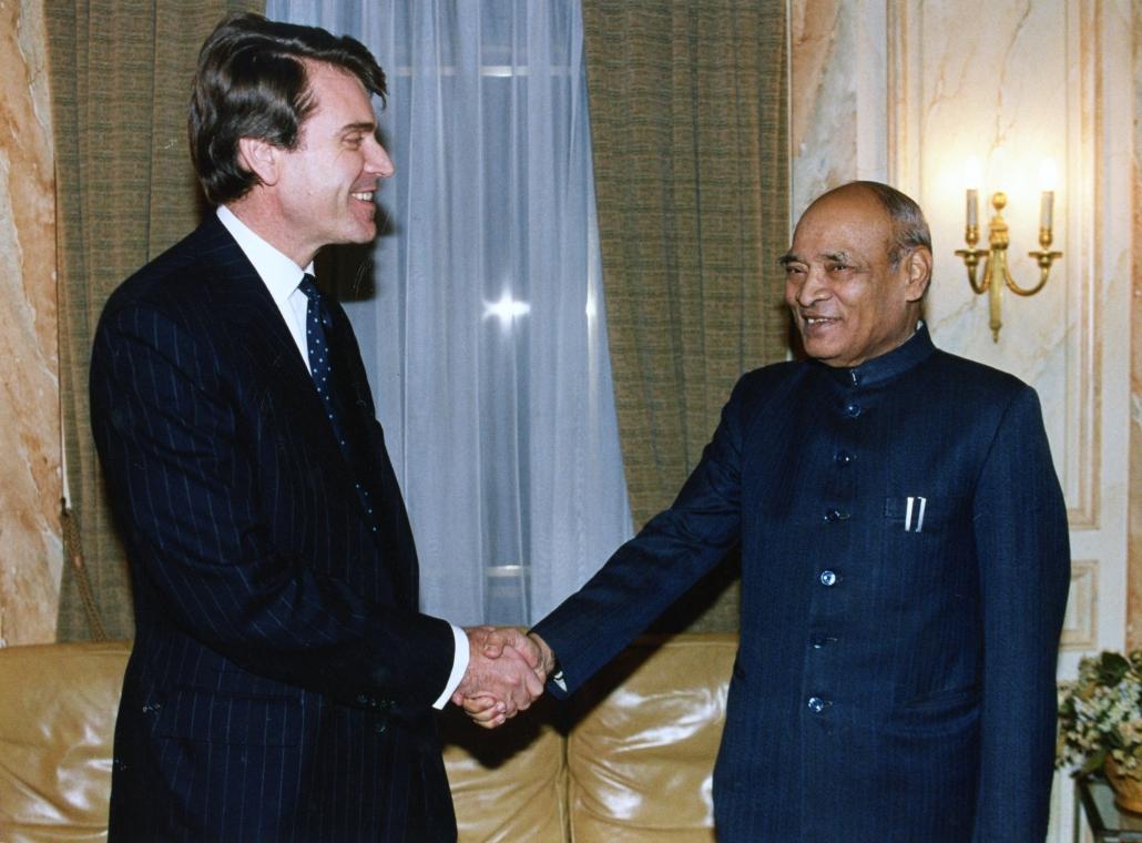 Rao Narasimha, Thierry de Montbrial, Ifri 1992