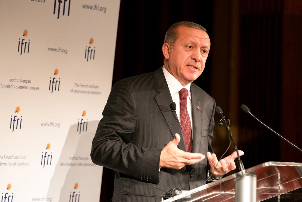 Recep Tayyip Erdogan, Ifri 2014