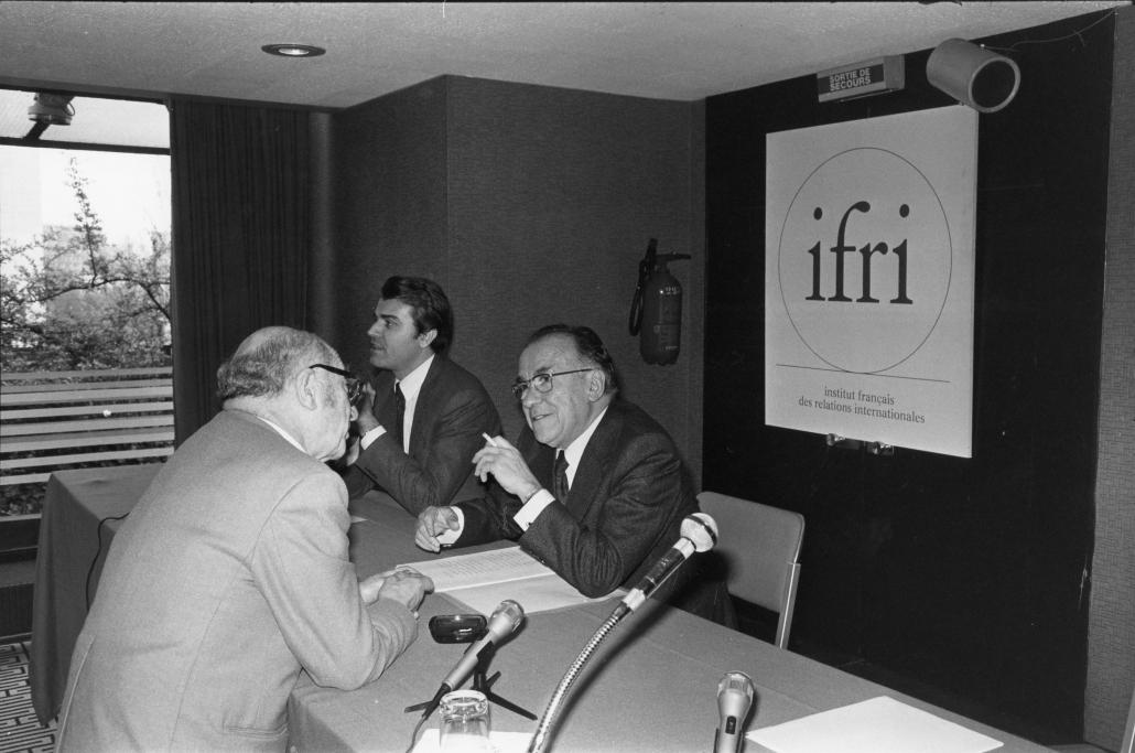 Santiago Carrillo, Ifri 1981