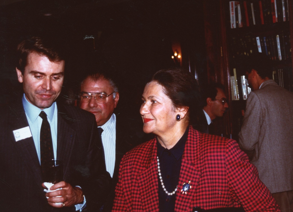 Simone Veil, Thierry de Montbrial, ifri 1989