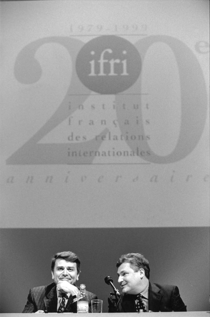 Thierry de Montbrial, Aleksander Kwasniewski, 20° anniversaire de l'Ifri, 1999