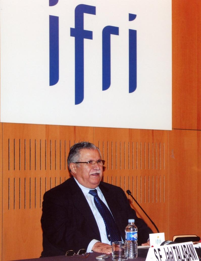 Jabal Talabani, Ifri 2007