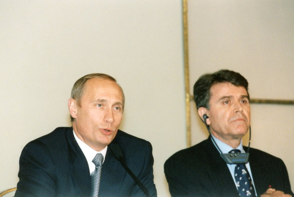 Vladimir Poutine, Thierry de Montbrial, Ifri 2000