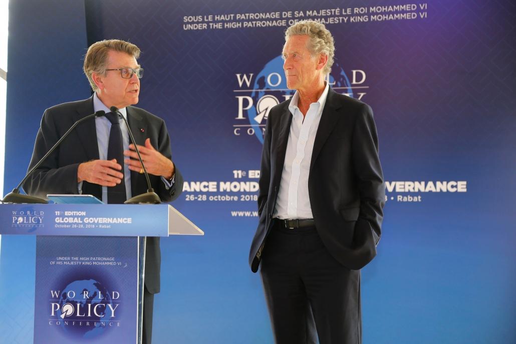 WPC 2018 - Thierry de Montbrial et Olivier Blanchard